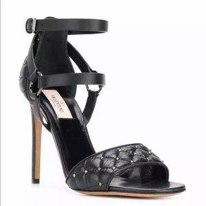 Valentino RockStud Sandals Size 40.5 PW2S0E99BWM